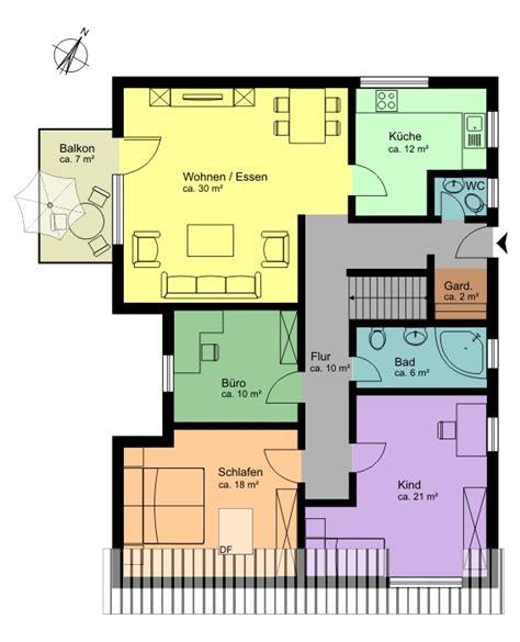 Welche Farbe Für Welches Zimmer by Immogrundriss De Verkaufsoptimierte Grundrisse Vom