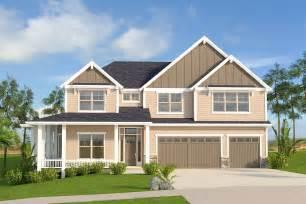 Craftsman House Plan With Wrap-around Porch