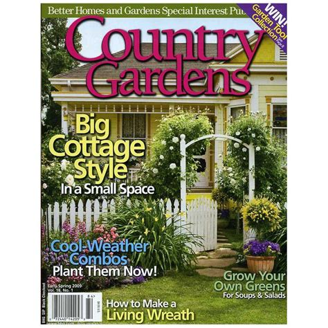 bhg garden store meredith bhg gardening series country gardens big cottage style 14195 the home depot