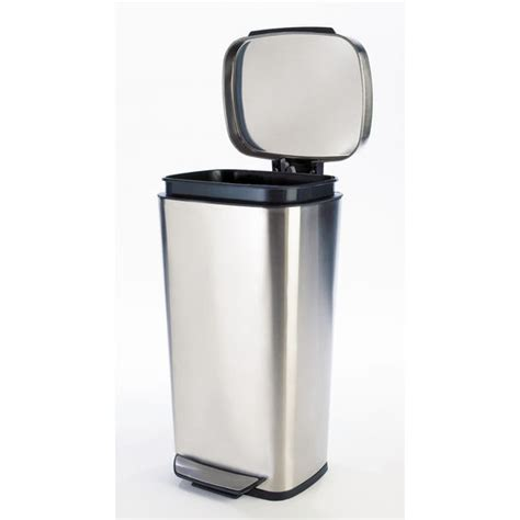 Oxo Kitchen Garbage Cans by Trash Cans Free Standing Built In Cabinet Pull