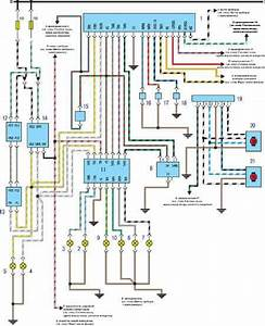 Golf 3 Central Locking Wiring Diagram