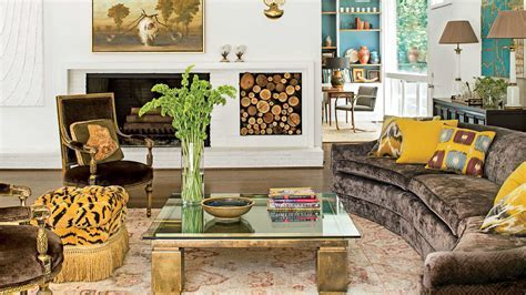 Mix Mod and Traditional   106 Living Room Decorating Ideas