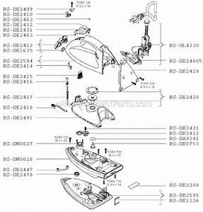 Rowenta De630 Parts List And Diagram   Ereplacementparts Com