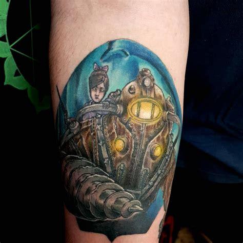 foto de 101 Original Bioshock Tattoo Designs You Need To See in