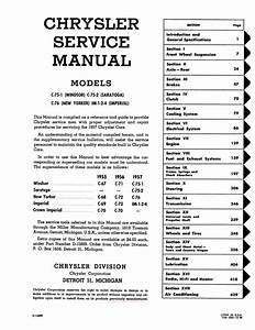 1957 Chrysler And Imperial Service Manual