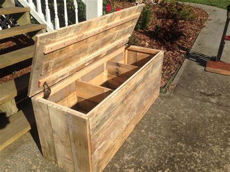 diy large rustic pallet chest pallet furniture plans