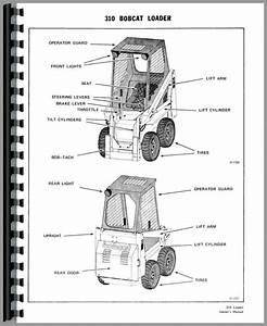 Bobcat 310 Skid Steer Loader Operators Manual
