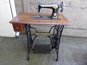 Ancienne Machine A Coudre : ancienne machine a coudre singer en tres bon etat eur ~ Melissatoandfro.com Idées de Décoration