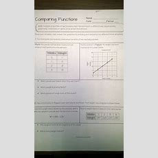201314 Lessons Functions And Graphing  Mrs Deans Class