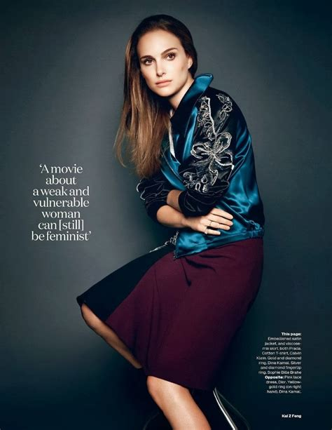 Smartologie Natalie Portman For Elle November