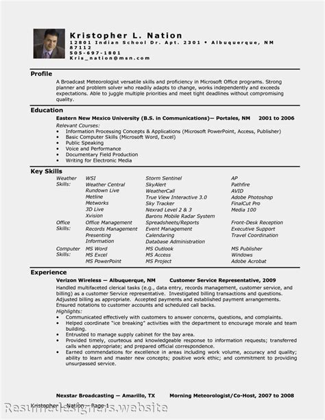health administration entry level resume sales