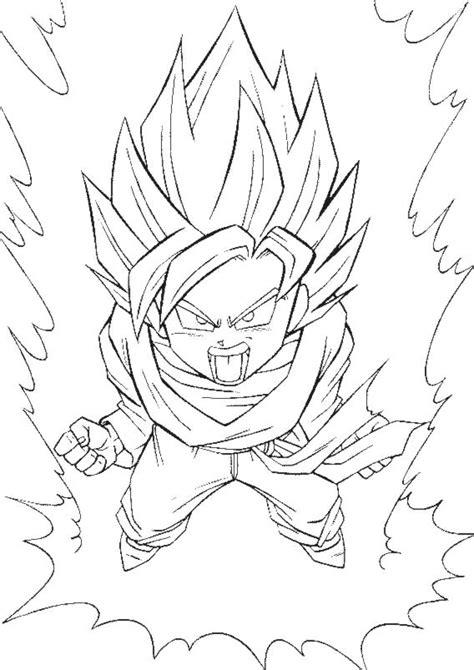 Dessin De Dbz Goku