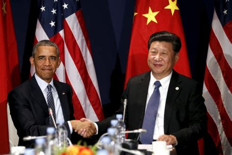 china climate deal presidents obama  xi agree