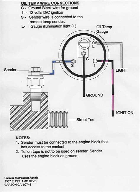 Installing Oil Temperature Gauge Out Ram Srt Dodge