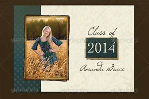 20 fantastic psd graduation announcement templates free premium templates for Photoshop graduation templates