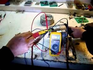 Comment Tester Vanne Egr Electrique : test alternateur avec ohm tre l 39 tabli youtube ~ Maxctalentgroup.com Avis de Voitures