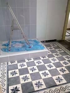 Carreaux De Ciment Salle De Bain : carreaux salle de bain la maison de lili ~ Melissatoandfro.com Idées de Décoration