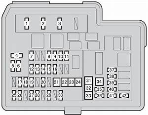 Prius C Fuse Box Diagram