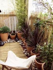 amenager un coin de jardin zen sur le balcon petits With idee amenagement jardin zen 2 balcon 40 idees pour lamenager et le decorer