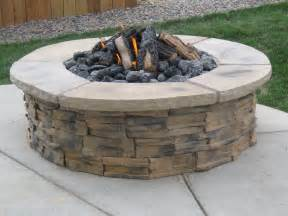 Triyae Backyard Stone Fire Pit Design The Best Fire Pit Designs And Compliments
