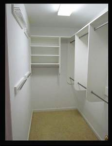build a narrow walk in closet - Google Search Bedroom