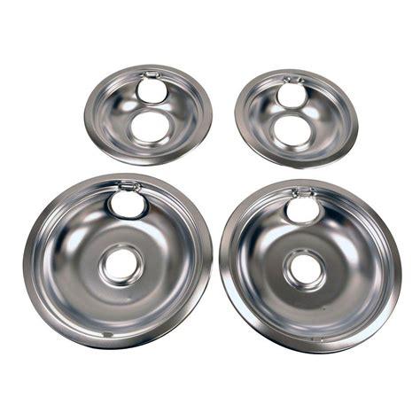 whirlpool drip pan kit  chrome   home depot