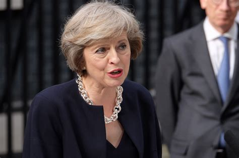 Spirit Cabinet by David Camer Gone Theresa May Prepares To Take Over As