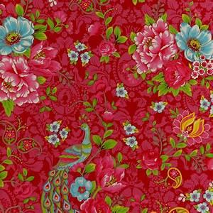 flowers in the mix blumentapete von pip studio With balkon teppich mit tapete rot blumen