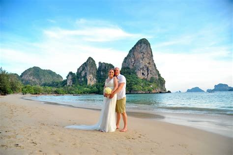Railay Beach Wedding Western Package Eleanor Darren