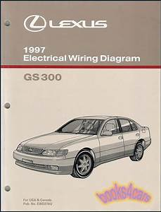 Gs300 Shop Manual Lexus Service Repair 1997 Book Electrical Wiring Diagram Gs300