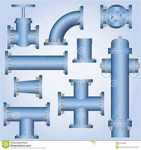 8 Water Pipes Vector Graphic Images - Pipeline ...