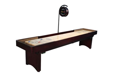 12 ft shuffleboard table 12 foot tournament shuffleboard table mcclure tables