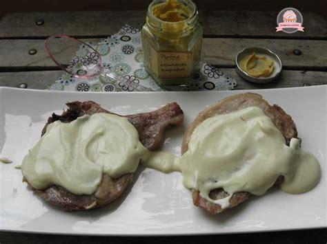 cuisine cote de porc recettes de sauce moutarde et porc