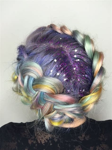25 Unique Pastel Rainbow Hair Ideas On Pinterest
