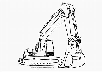Coloring Construction Vehicles Pages