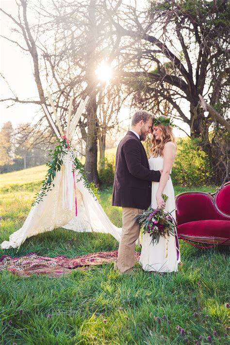 colorful rustic boho wedding ideas   detail