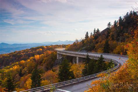 Linn Cove Viaduct Blue Ridge Parkway Blue Ridge Mountain