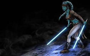 Aayla Secura - COLORED by LordDaroth on DeviantArt
