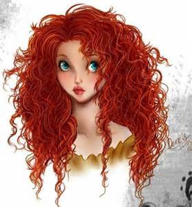 Brave Disney Princess Merida Hair