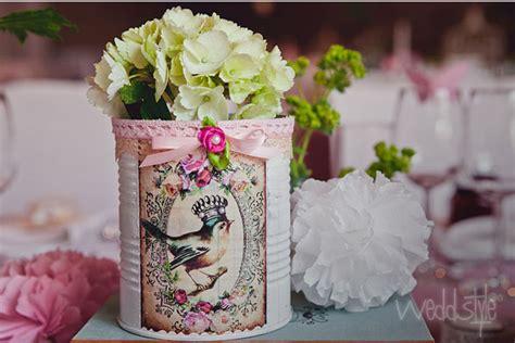 vintage vasen und mason jars glaeser fuer hochzeit mieten