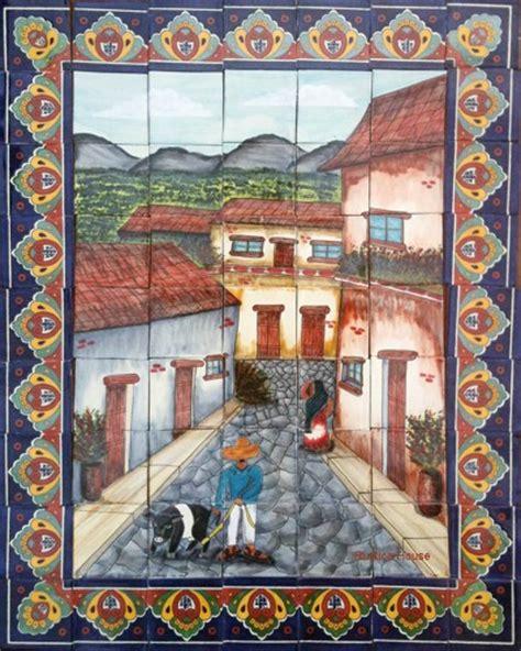 mexican tiles talavera tile mural mexican tiles