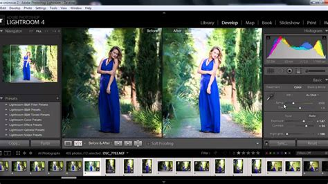 basic color correction  lightroom tutorial youtube