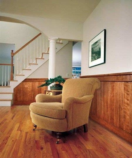 image result  knotty pine  walls  white paint