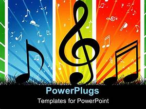 powerpoint template music themed background with cool With music themed powerpoint templates