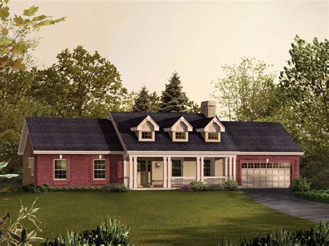 Carter Creek Country Ranch Home Plan 007d0192 House