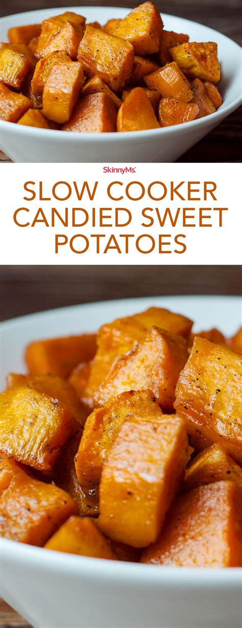 slow cooker candied sweet potatoes recipe candied