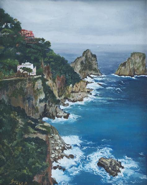 Capri Painting By Stella Marin