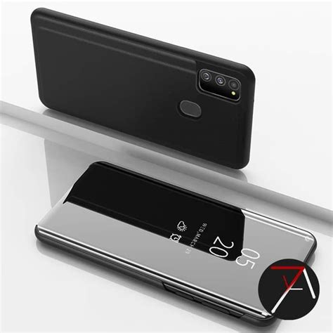 jual samsung galaxy  flip clear view standing cover