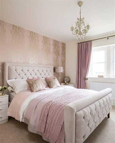 bedroom inspiration  charming bedrooms  millennial pink master bedroom ideas