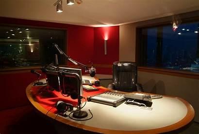 Studio Radio Virgin Thailand Station Recording Bangkok